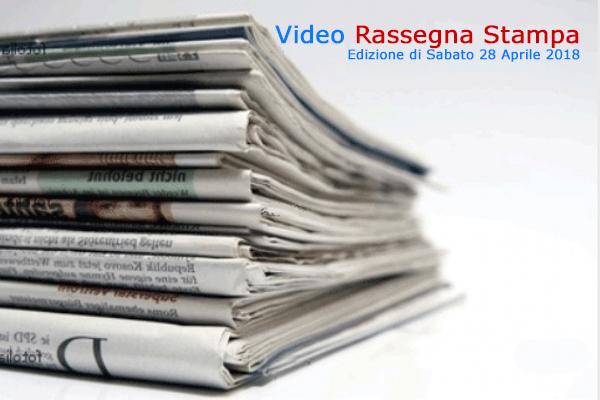Video-Rassegna Stampa Canale 10 (CdG del 28.4.2018)
