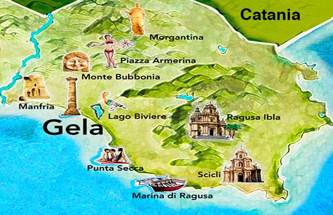 Cartina Geografica Sicilia Sud Orientale.Il Distretto Sud Est Della Sicilia Unica Ancora Di Sviluppo Per Gela