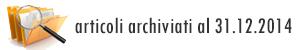 Banner Archivio 2014